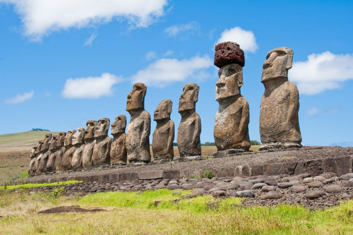 โมอายแห่งเกาะอีสเตอร์ ( Moai Easter Island )