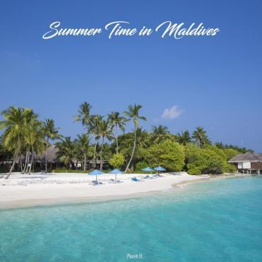 Summer Time in Maldives