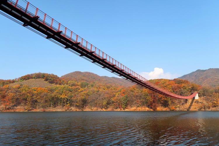 ฤดูใบไม้เปลี่ยนสี, เกาหลีใต้