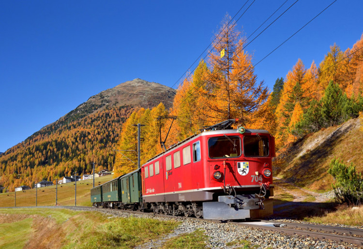 ฤดูใบไม้เปลี่ยนสี, สวิตเซอร์แลนด์