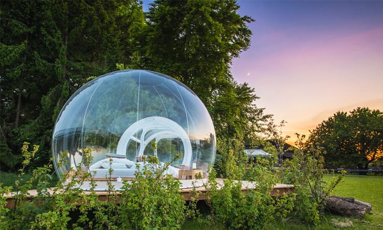 โรงแรมฟองสบู่, bubble hotels, สวิตเซอร์แลนด์