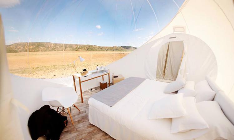 โรงแรมฟองสบู่, bubble hotels, สเปน