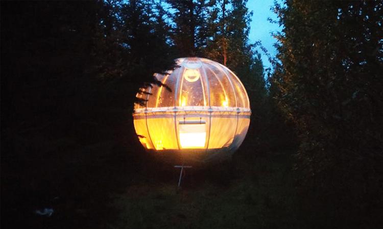 โรงแรมฟองสบู่, bubble hotels, ไอซ์แลนด์