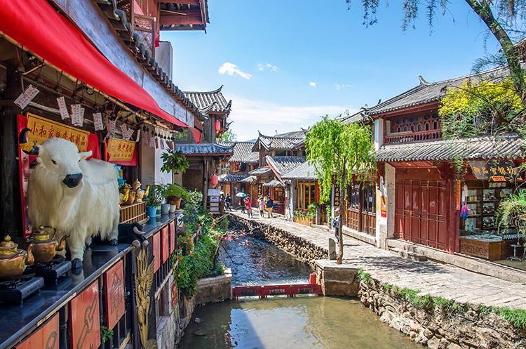 เมืองโบราณลี่เจียง, เที่ยวจีน