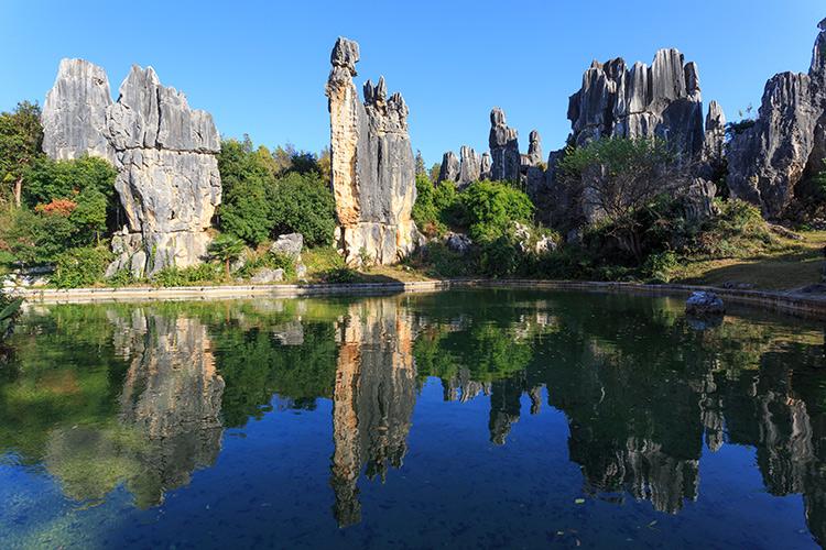 อุทยานป่าหิน, เที่ยวจีน