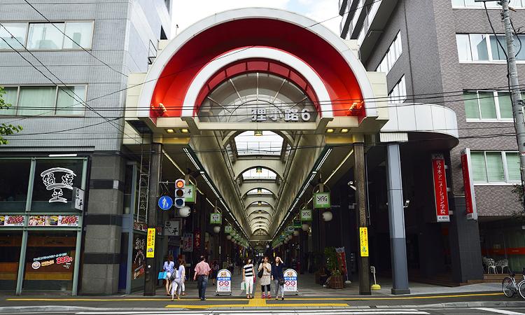 ตลาดถนนคนเดินทานูกิโคจิ, Tanukikoji