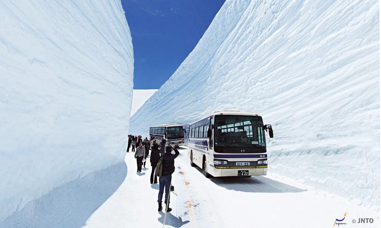กำแพงหิมะยุคิโนะโอทานิ
