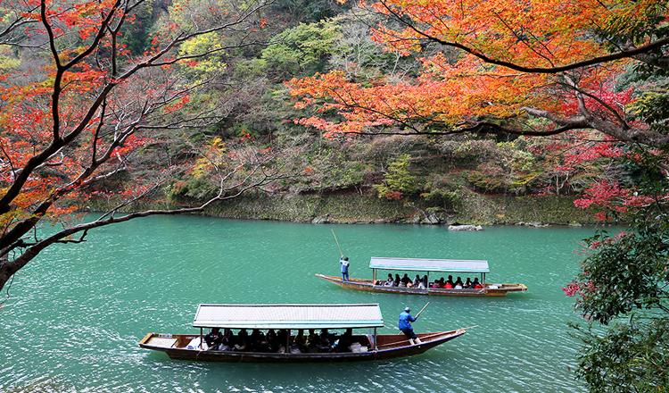 ใบไม้เปลี่ยนสี, อาราชิยามะ, เกียวโต