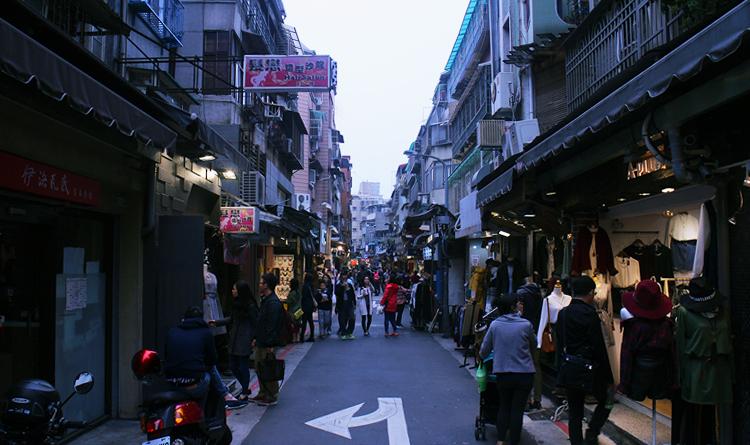 Shi-Da Night Market ไทเป ไต้หวัน