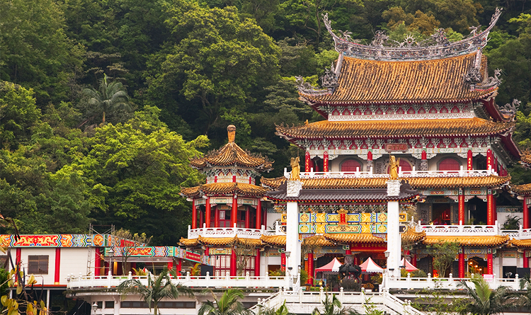 Zhinan Temple ไทเป ไต้หวัน