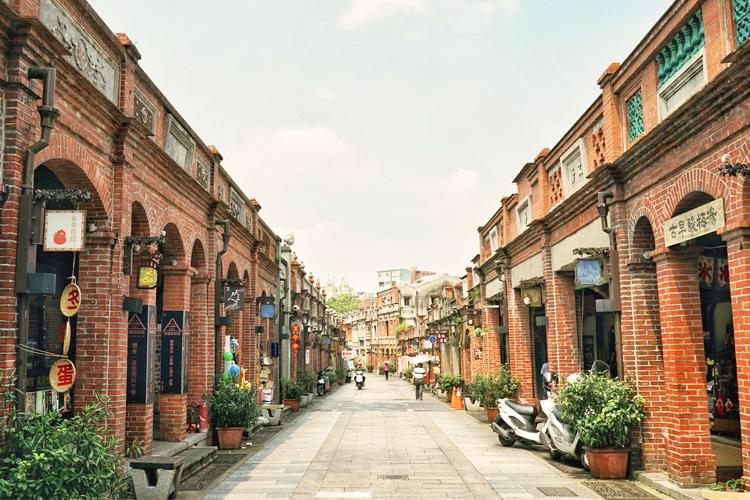 ถนนโบราณซานเสีย, Sanxia Old Stree