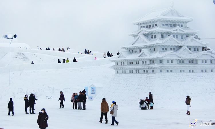 เทศกาลหิมะ, อะซาฮิคาวะ, ญี่ปุ่น