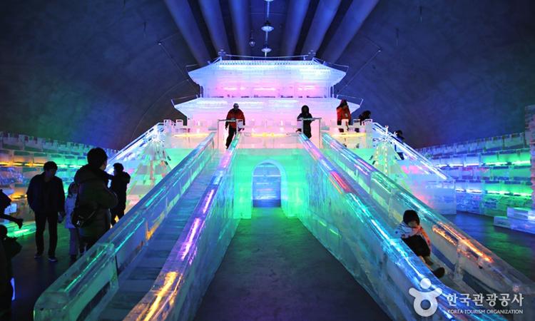 เทศกาลน้ำแข็ง, ซันชอนออ, เกาหลีใต้
